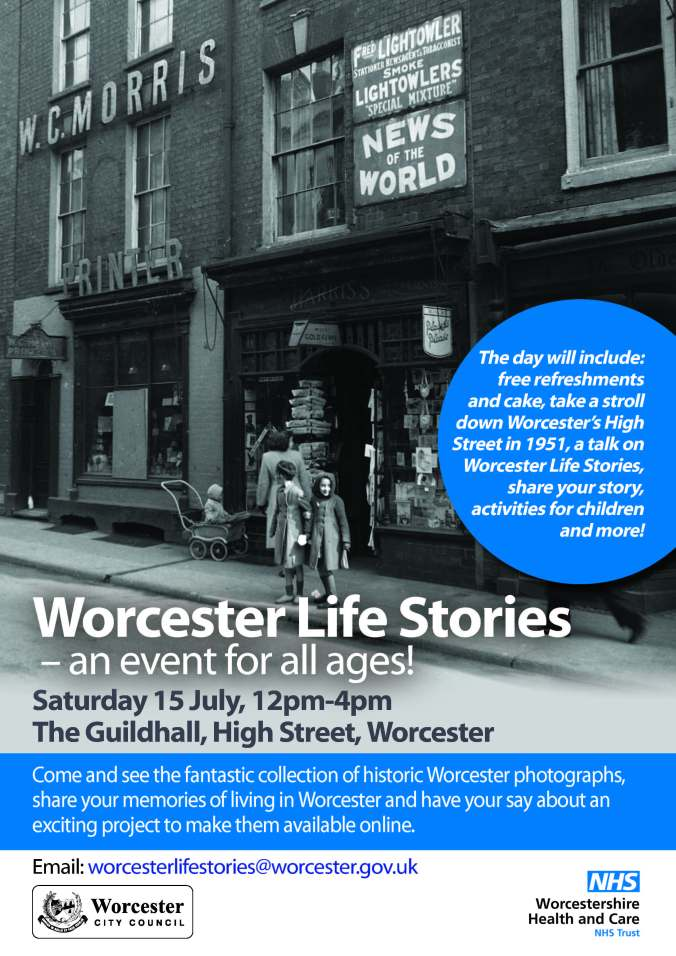 Worcester Life Stories A4