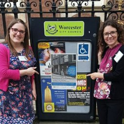 Sheena Payne-Lunn & Dr Natasha Lord, Worcester Life Stories, Co-Leaders